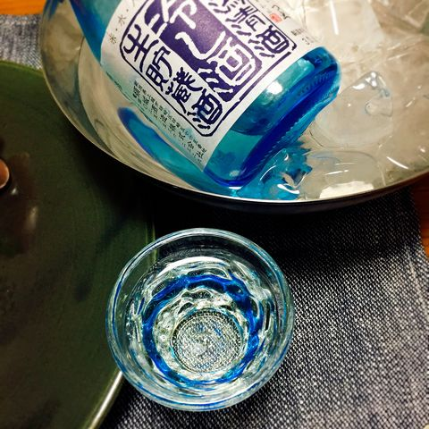 日本酒のガラス器