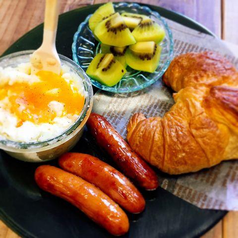 エッグスラットの朝食