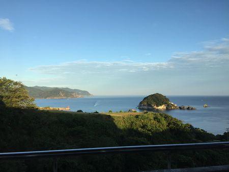 ファミリーイン今子浦からの海