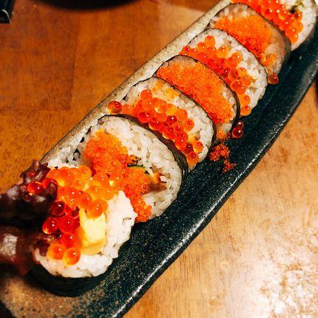 忘年会のお寿司