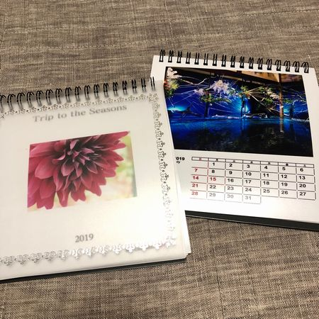 オリジナル写真の2019カレンダー