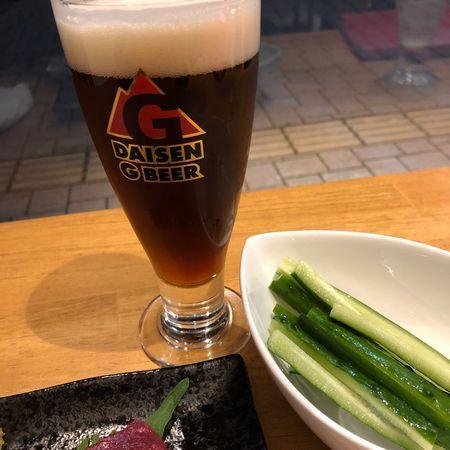 大山Gビールのスコティッシュエール