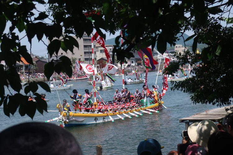 矢田櫂伝馬船