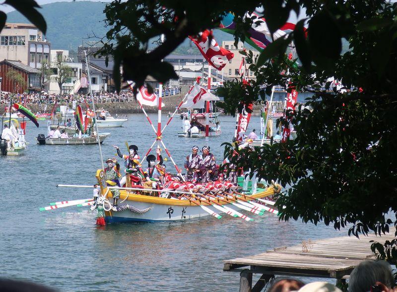 矢田の櫂伝馬船
