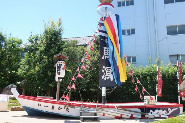 伝承館の船模型