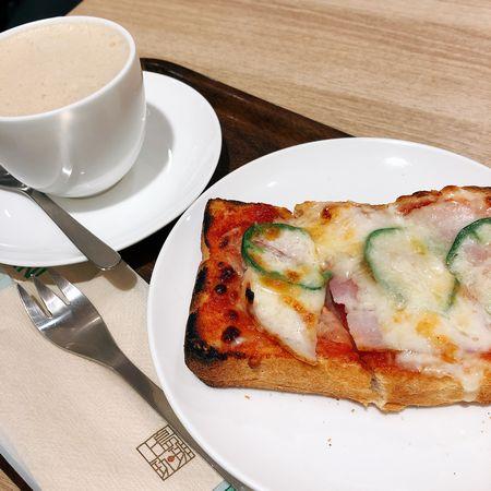 上島珈琲店のピザトースト