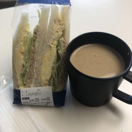 ツナと玉子のサンドイッチ