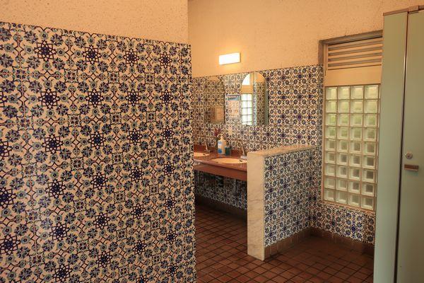 モネの庭のトイレ
