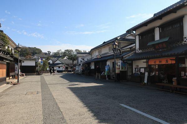 倉敷美観地区の街並み